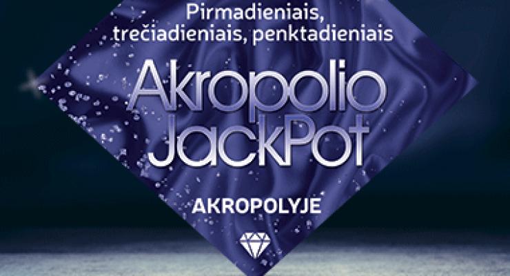 Akropolio Jackpot