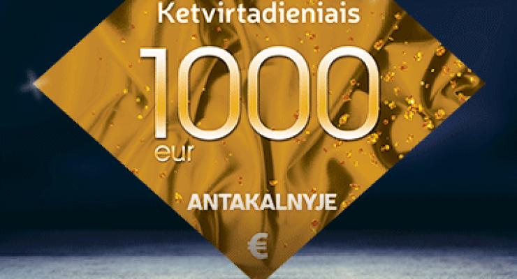 1000€ Antakalnyje