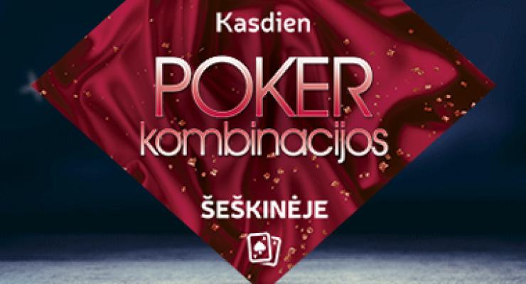Poker kombinacijos